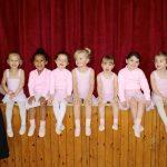 Children's ballet classes at Surrey Dance School in Limpsfield, Oxted, Surrey.