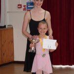 Ballet Award winner at The Surrey Dance School Awards