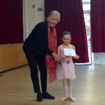 Children's Ballet winner at The Surrey Dance School Awards 2016