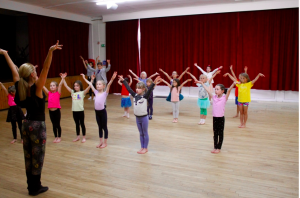 Learning Cha Cha at SDS Childrens Dance Class, Limpsfield, Oxted, Surrey
